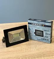 Светодиодный LED прожектор 30w 6500k Lemanso LMP9-34