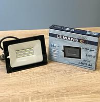 Светодиодный LED прожектор 50w 6500k Lemanso LMP9-54