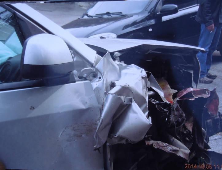 Восстановление Ford Fusion, 2011 г.в, после лобового столкновения