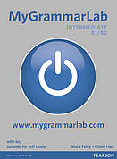 MyGrammarLab Intermediate (B1/B2) Student Book (with Key) and MyLab ISBN: 9781408299159