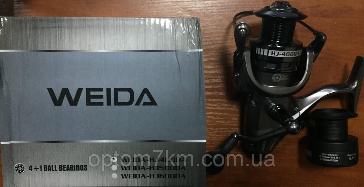 Катушка Weida с байтранером HJ-4000 4+1bb