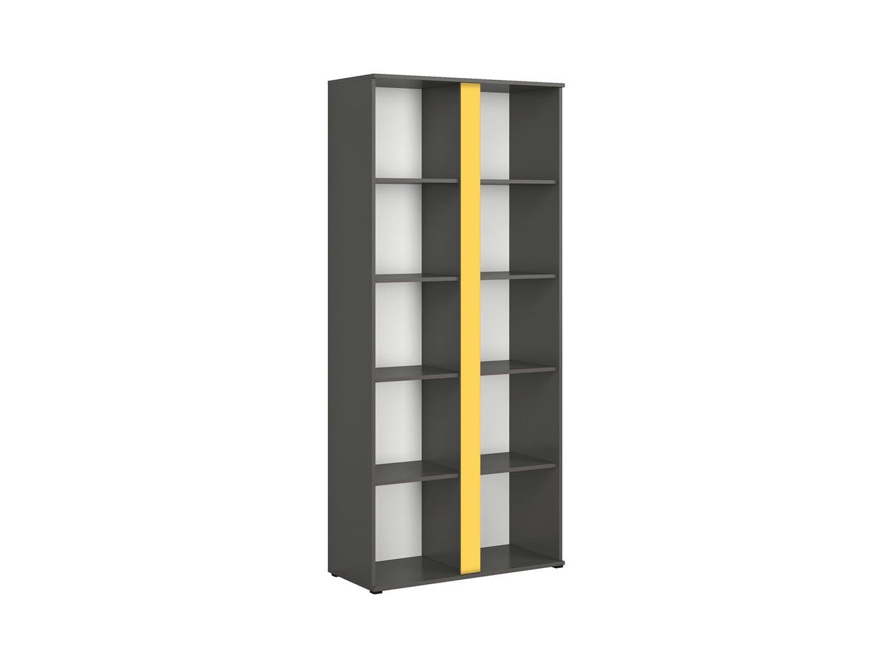 Книжный шкаф Graphic S343-REG/86-SZW (BRW)