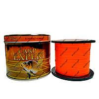 Леска Carp Expert Fluo Orange 1000 метров 0.25 mm.