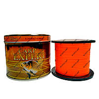 Леска Carp Expert Fluo Orange 1000 метров 0.40 mm.