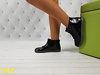 Резиновые ботинки непромокаемые модельные, фото 1