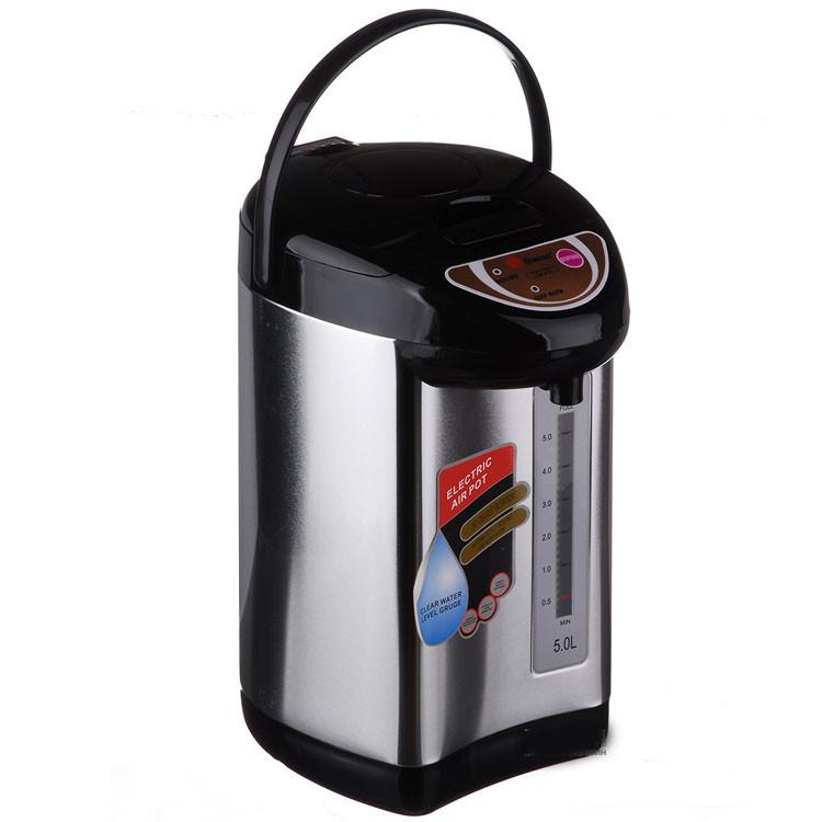 Термопот-термос Domotec на 5л термопот функция кипячения 5 литров ручка для переноски Домотек пятилитровый, фото 1