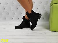 Ботинки деми замшевые болты оригинальные на низком ходу, фото 1