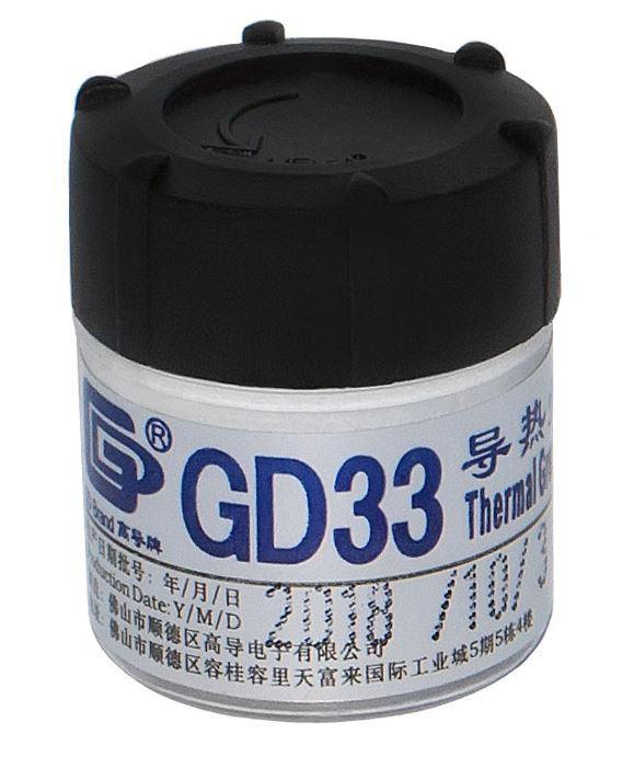 Теплопроводящая паста GD33-CN25 баночка 25 гр.