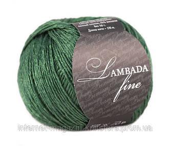 Пряжа Сеам Lambada Fine зелёный