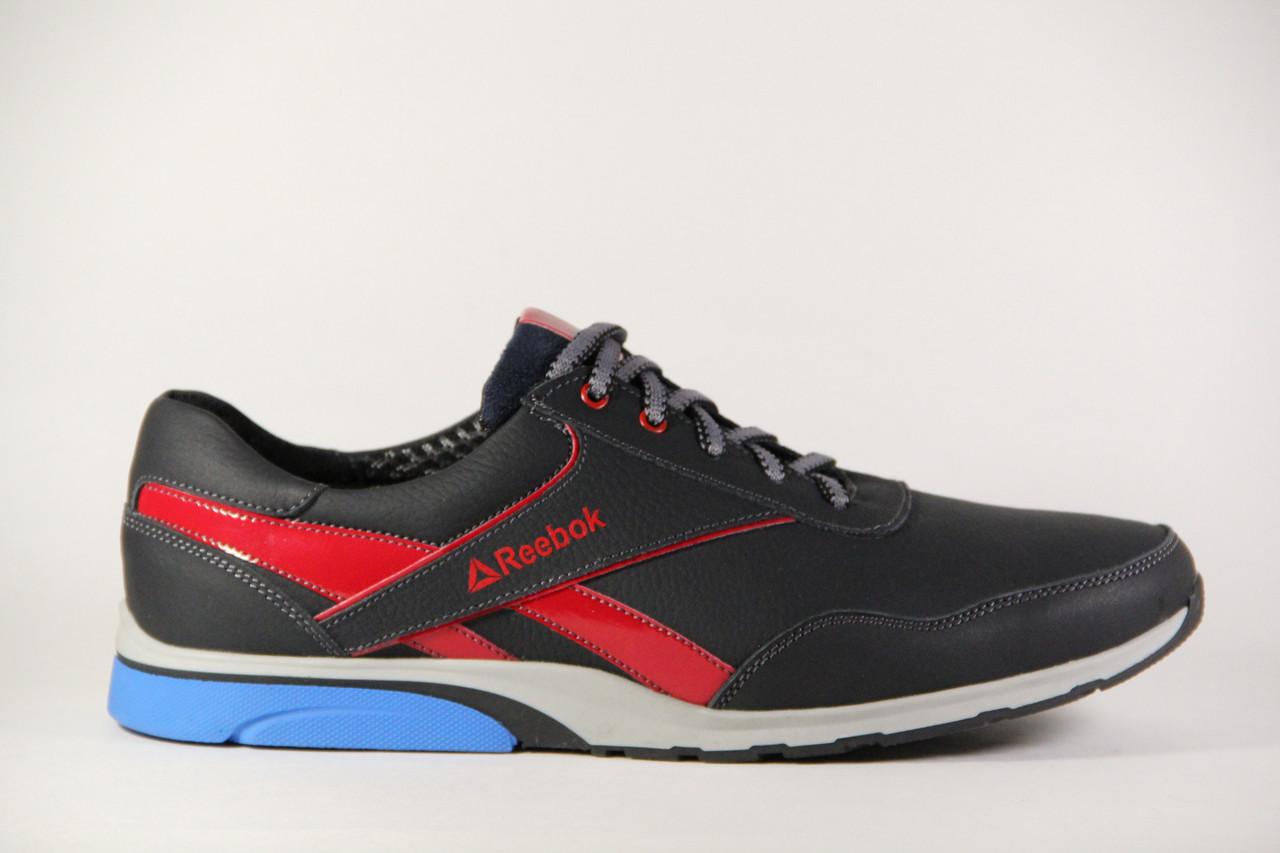 Мужские кроссовки больших размеров из натуральной кожи, обувь больших размеров БФ 012