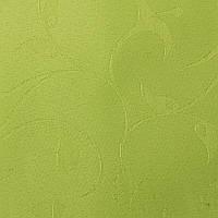 Готовые рулонные шторы Ткань Ольга Зелёный