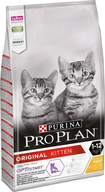 Purina Pro Plan Original Kitten 400 г - сухой корм для котят