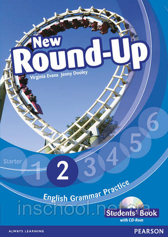 New Round Up Level 2 Students' Book (with CD-ROM) ISBN: 9781408234921, фото 2
