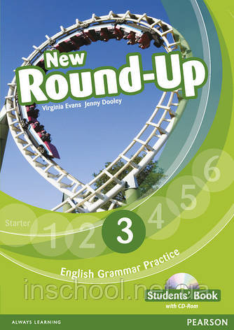 New Round Up Level 3 Students' Book (with CD-ROM) ISBN: 9781408234945, фото 2