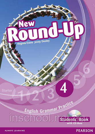 New Round Up Level 4 Students' Book (with CD-ROM) ISBN: 9781408234976, фото 2