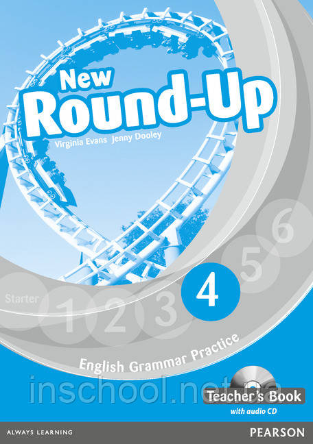 New Round Up Level 4 Teacher's Book (with Audio CD) ISBN: 9781408234983