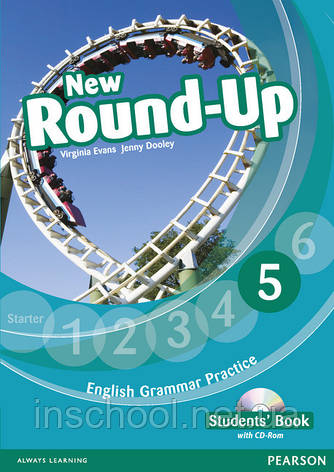 New Round Up Level 5 Students' Book (with CD-ROM) ISBN: 9781408234990, фото 2