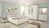 Спальня Ирис  комплект с 4д шкафом