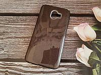 Чехол с блестками Shine для Samsung J6 2018 Galaxy J600 Черный силикон