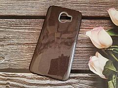 Чохол з блискітками Shine для Samsung J6 2018 Galaxy J600 Чорний силікон