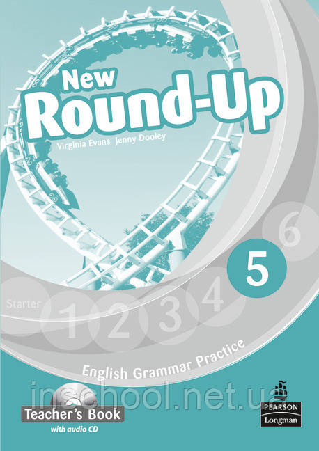 New Round Up Level 5 Teacher's Book (with Audio CD) ISBN: 9781408235003