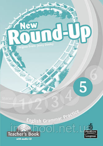 New Round Up Level 5 Teacher's Book (with Audio CD) ISBN: 9781408235003, фото 2