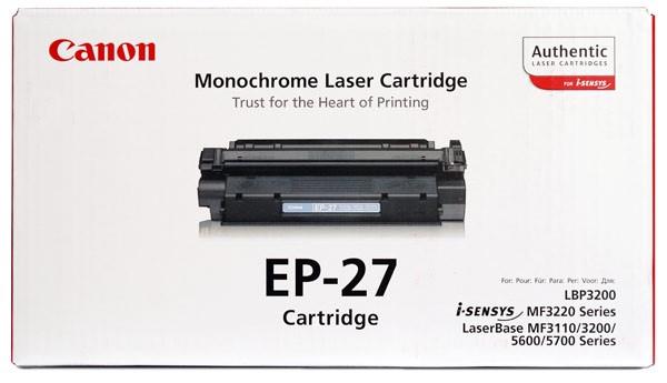 Заправка картриджа Canon EP-27
