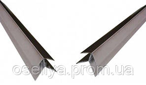 Кут ПВХ коричневий зовнішній 8мм L=3м