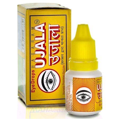 Капли для глаз Уджала (Ujala), 10 мл