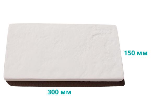 Плитка террасная рифленая 30х15х2,5 см