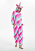 Пижама единорог взрослая кигуруми розовый звезды М, фото 3