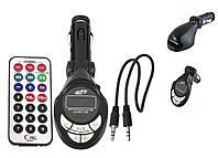 FM-Трансмитер DC-663;  USB, SD, TF;  LCD; FM 206 channels; пульт