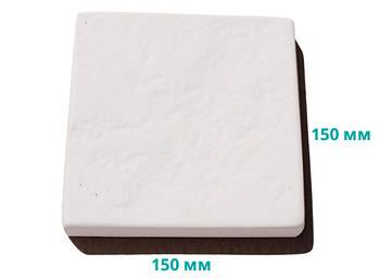 Плитка террасная рифленая 15х15х2,5 см