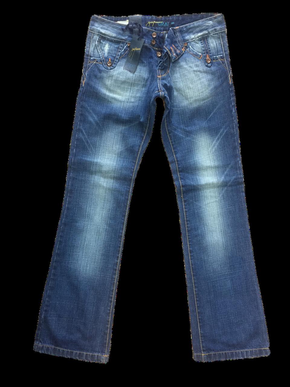 Женские джинсы OMAT клёш от колена купить в Киеве