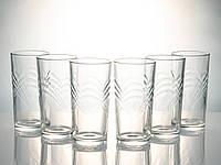 """Набір склянок 230 мл 5с 1255 У-6 """"Сідней"""" 6 шт., фото 1"""