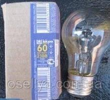Лампа Іскра Е-27 60W прозора