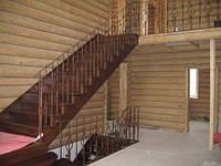"""Маршевая лестница 28 """"под дерево"""""""