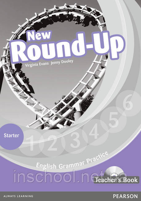 New Round Up Starter Level Teacher's Book (with Audio CD) ISBN: 9781408235041