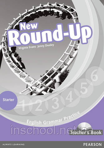 New Round Up Starter Level Teacher's Book (with Audio CD) ISBN: 9781408235041, фото 2