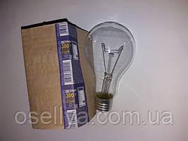 Лампа Іскра Е-27 300W прозора