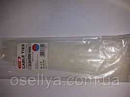Стяжки нейлонові RengEL 4*300 Білі (100шт.)