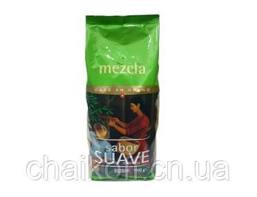 Кофе в зернах Hacendado Mezcla Sabor Suave 1000 г (Испания)