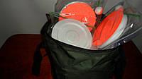Набор жерлица 10 штук летняя НЕ оснащеннная диаметр 150мм в сумке, фото 1