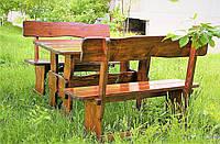 Стол из массива дерева 2000*800, столы и стулья для кафе, баров, ресторанов от производителя