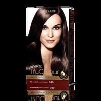 Cтойкая краска для волос HairX TruColour - Медно-каштановый махагон, 125 мл