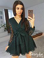 Платье из сетки -добби, фото 1