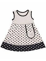 Летнее платье для девочки до 1,5 лет