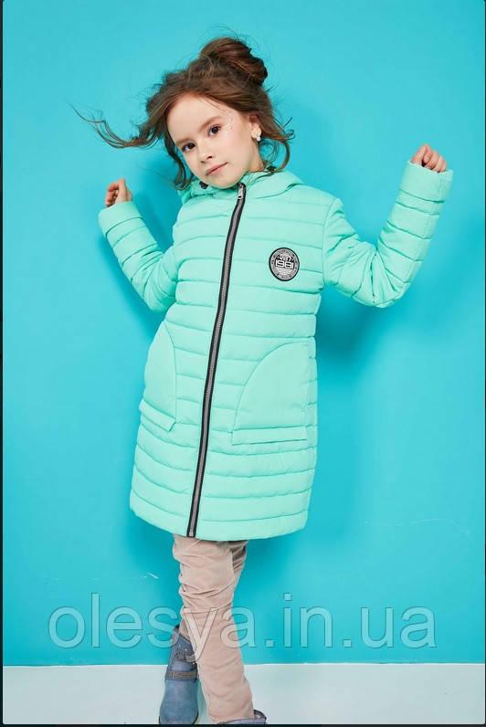 Детская демисезонная куртка на девочку бренда Nui Very Полли Размеры 110, 122