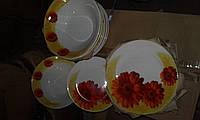 Тарелка мелкая фарфоровая 175мм
