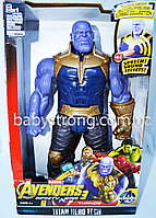Фигурка Супер героя Танос / Thanos Марвел- Мстители Большая 30 СМ ( Свет, Музика ) Отличное Качество !